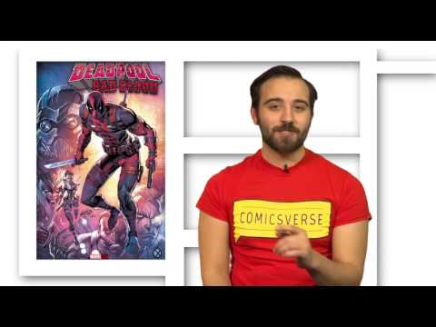 Weekly Comic News Ep.9 – Wolverine Writer v U.S. Immigration, DC Kids, New Deadpool OGN
