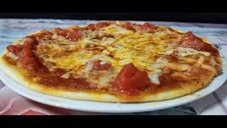 ▶ Cómo hacer PIZZA casera masa fina y crujiente ????????????  #MásqueRico