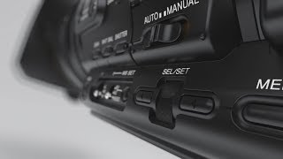 Sony professional camcorder HXR-NX5R - 3CMOS with latest technology