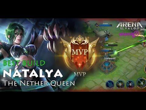 Natalya Best Build Winning Build Garena Arena Of Valor Aov