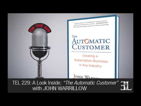 The Automatic Customer by John Warrillow TEL 229