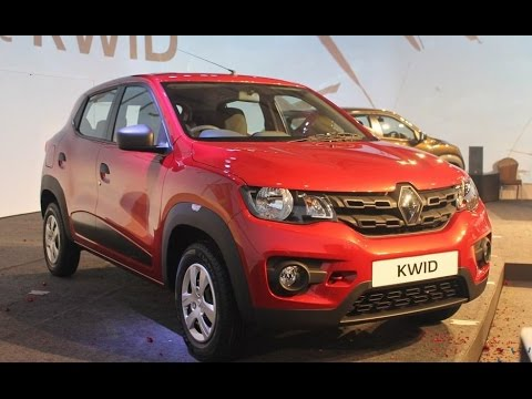 2018 Renault Kwid Exterior And Interior Quick Look Youtube