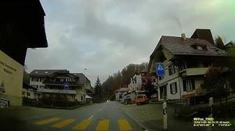 CH: Gemeinde Rüegsau. Kanton Bern. Ortsdurchfahrt. November 2019
