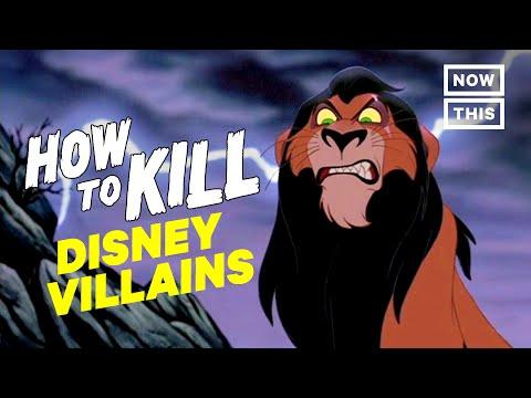 How to Kill Disney Villains | Slash Course | NowThis Nerd