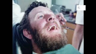 1970s Dentist Examines Man's Teeth | Kinolibrary