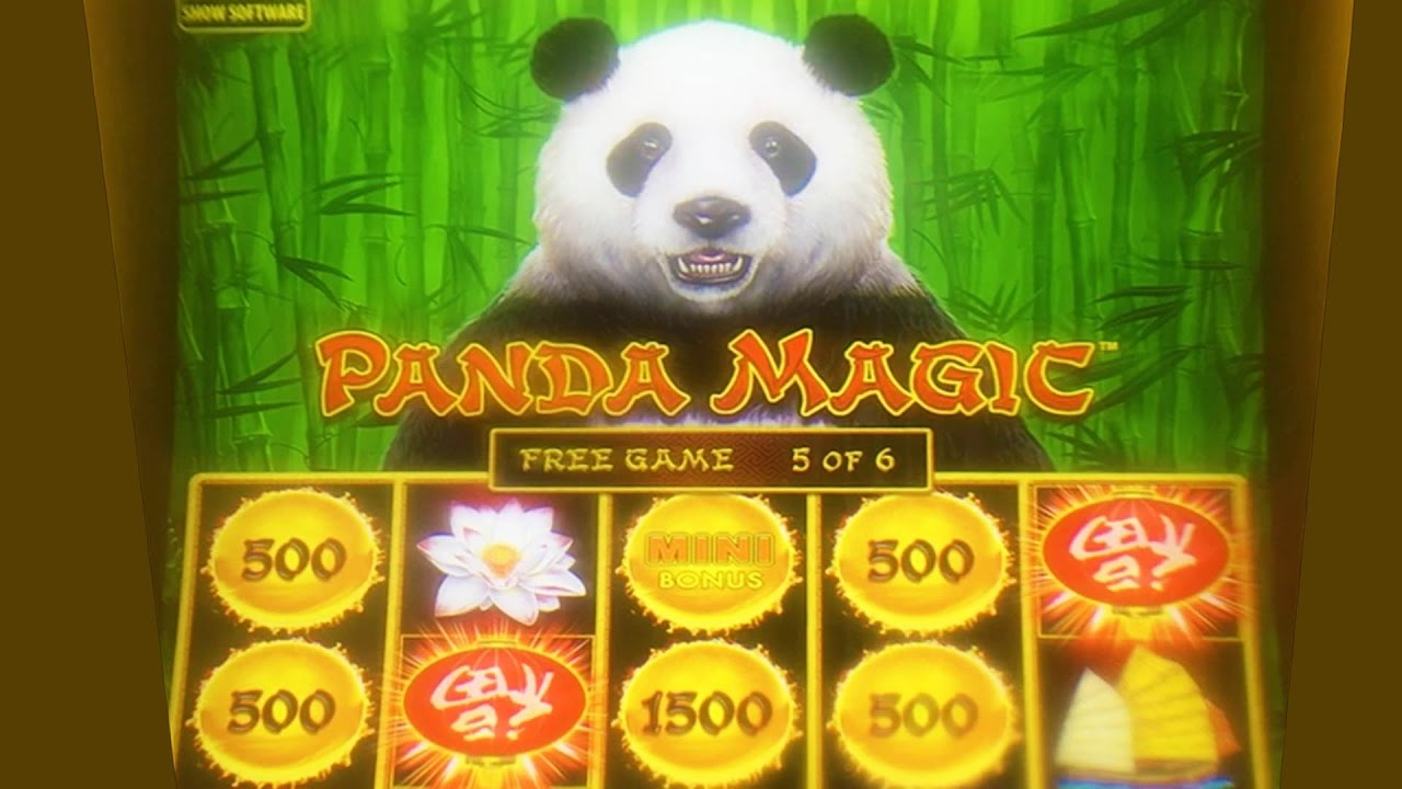 Panda Slot Machine Wins