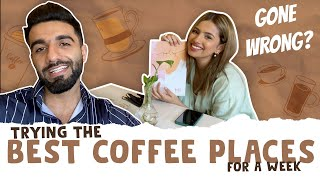TRYING BEST COFFEE PLACES FOR A WHOLE WEEK | FT AASHNA | Mr.MNV |