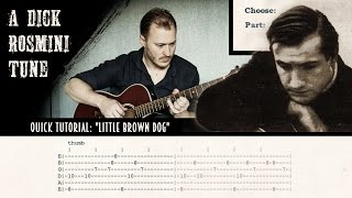 Quick Tutorial: Little Brown Dog by Dick Rosmini