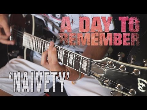 A Day To Remember - Naivety // Guitar Cover HD
