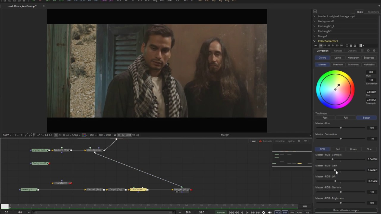 Q'nD Blackmagic Fusion Tutorial: Tracking a Mask