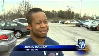 LAUREL, MD: BROTHER PLAYS DETECTIVE AND SOLVE THE CRIME OF HIS STOLEN RIMS