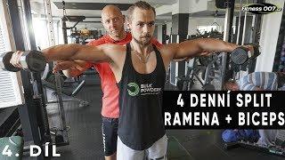 TRÉNINK PRO POKROČILÉ S JIRKOU VACKEM #4   Ramena a biceps