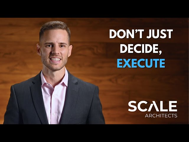 Don't just decide, execute