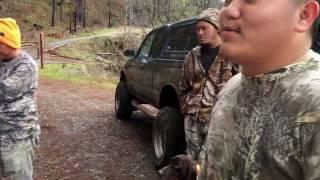 Hmong Sacramento hunting 2016 band tail pigeon 12/24/16