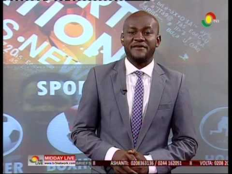 MiddayLive - Sports - Black Stars prepares for Mauritius - 1/6/2016