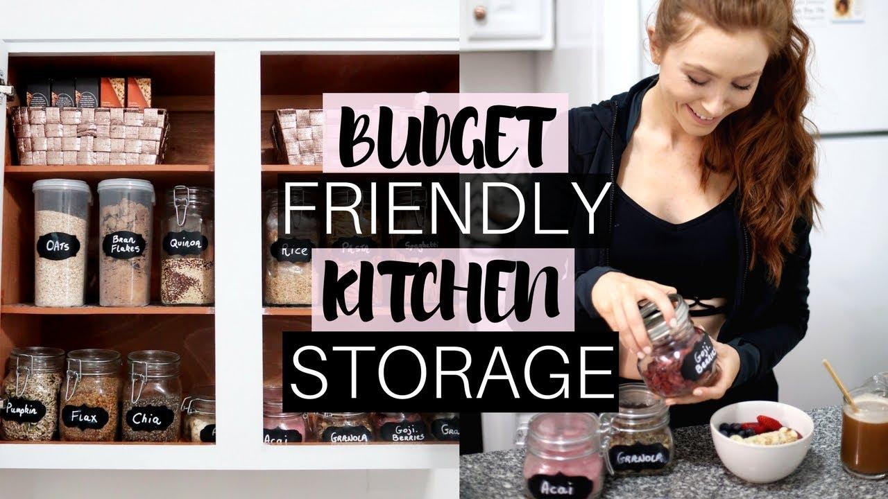 KITCHEN ORGANIZATION IDEAS - Kitchen DIY - #RetroFlameHomeNYC