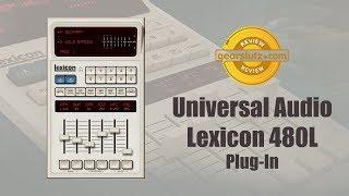 Universal Audio Lexicon 480L Reverb Plug-In: Sound Demo