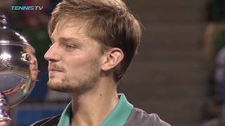 David Goffin Wins Tokyo Title | Rakuten Japan Open 2017 Final Highlights