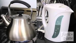 Tea Kettle vs Electric Kettle