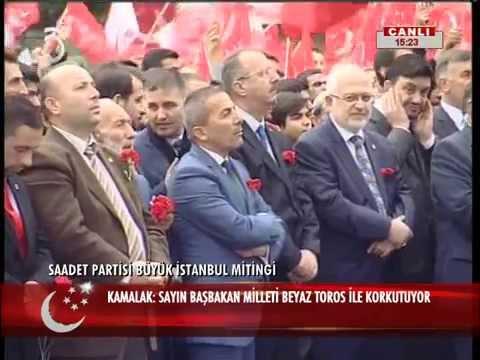 Saadet Partisi Istanbul Mitingi 25.10.2015