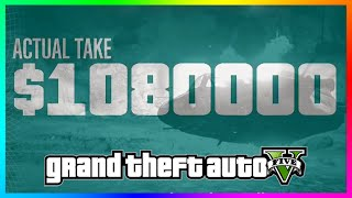 GTA 5 OVER $1,000,000 PAYOUT!!! - Biggest 2x GTA Online Money & RP Heist Payout Ever! (GTA 5 LIVE)