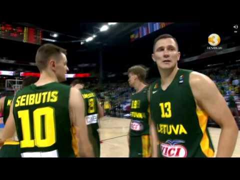 EuroBasket 2015, Estija - Lietuva, Mačiulio pergalingas metimas