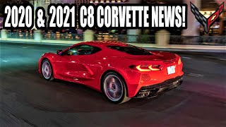 LATEST 2021 C8 Corvette News! The Mid Engine is Crashing & Blowing Up Everywhere!