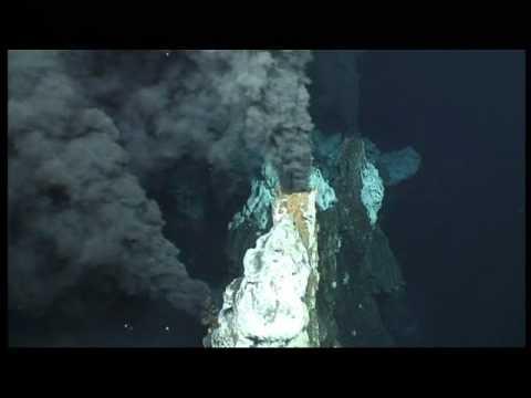 """Black smoker"" hydrothermal vent"