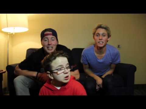 Seaweed & Alcohol (Keenan Cahill & Cody and Colton) Singing