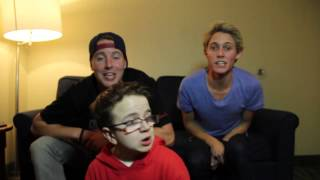 Seaweed & Alcohol (Keenan Cahill & Cody and Colton) Singing