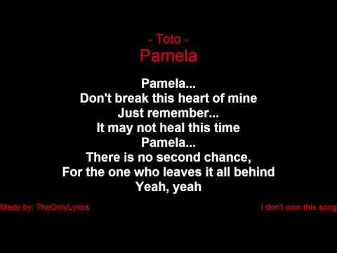 Toto - Pamela (with lyrics)