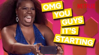 The Best Of Leslie Jones On RuPaul's Drag Race