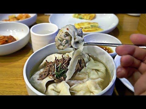 Korean Food - MICHELIN STARRED Dumpling Soup in Seoul