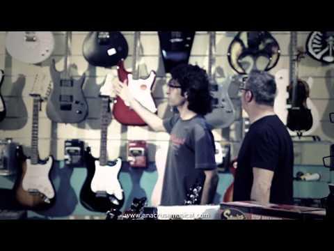 Spot Anacrusa musical. Tienda de instrumentos musicales en Madrid. Instrumentos musicales online.