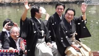 平成26年(2014年)5月29日、恒例の「博多船乗り込み」が行われました。...
