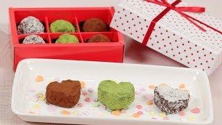 Chocolate Rum Raisin Walnut Valentines ラム酒風味レーズンナッツチョコ バレンタイン用 作り方 レシピ