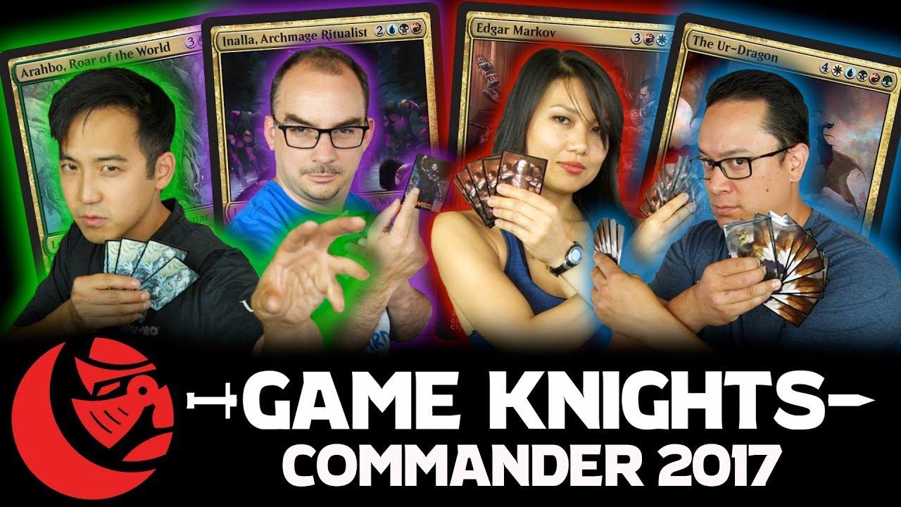 Commander 2017 Ur Dragon Edgar Markov Arahbo And Inalla L Game Knights 9 Magic The Gathering