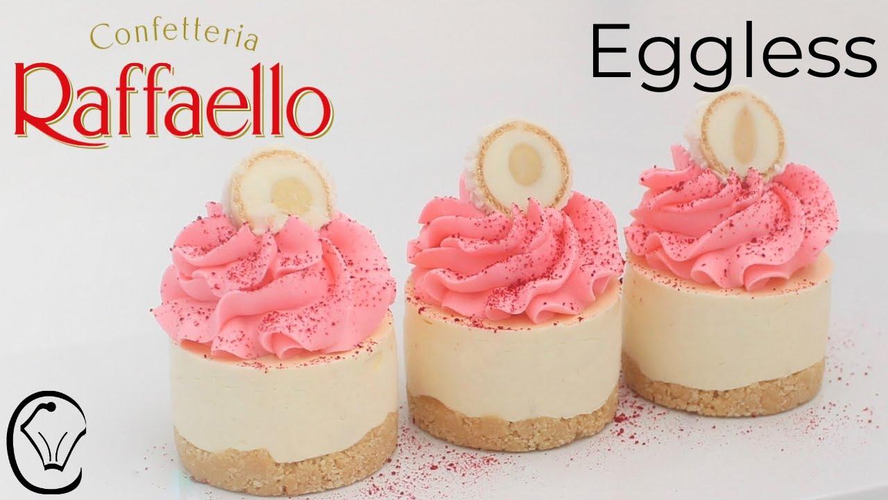 BEST Raffaello Coconut Mini Cheesecakes EGGLESS Make Ahead No Bake AMAZING Must Try!