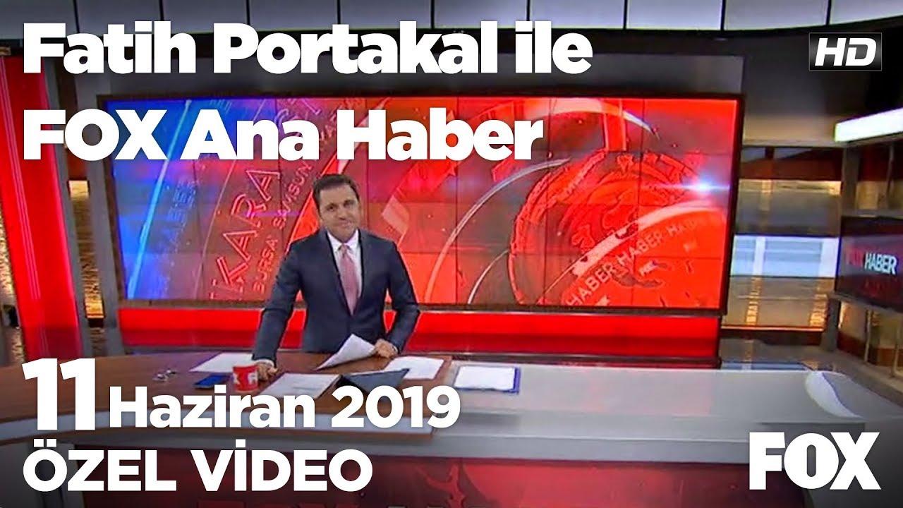 ABD ile S-400 krizi... 11 Haziran 2019 Fatih Portakal ile FOX Ana Haber