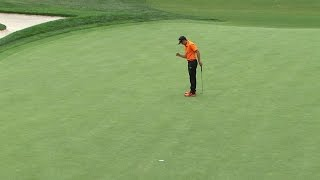 Rickie Fowler's 4th birdie of the day at Barclays