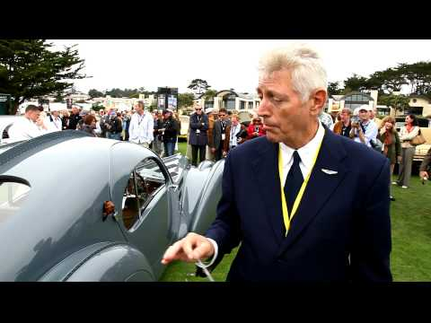 John Zraick talks about a controversial Bugatti Type 57 Atlantic