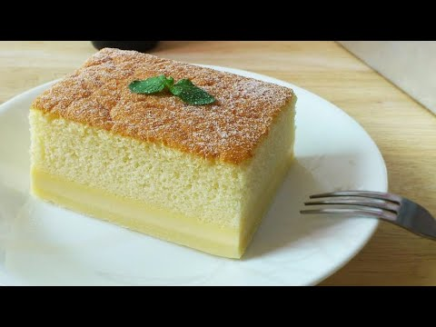 Magic Custard Cake (魔术卡士垯蛋糕) **