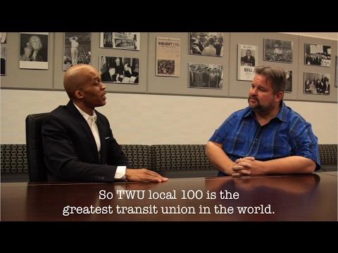 Dj cool clyde & John Samuelsen Transport Local 100 Union President PART 1