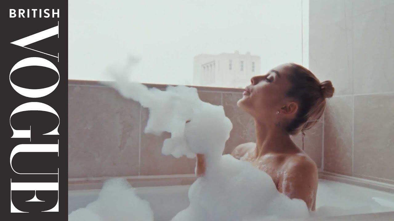 Waking Up With Ariana Grande British Vogue Youtube