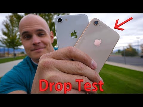 Thumbnail: iPhone 8 DROP TEST!! - 'Most Durable Glass' Ever?