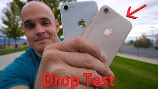 iPhone 8 DROP TEST!! -