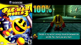Pac-Man World 3 [44] 100% GameCube Longplay