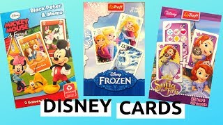 Frozen - Elsa and Anna - Mickey Mouse - Sofia the First - Disney - Cards - Unboxing