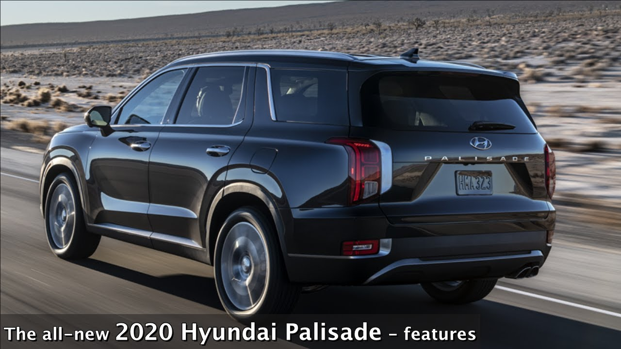 The All New 2020 Hyundai Palisade Features Youtube