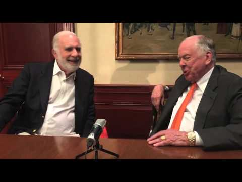 T. Boone Pickens talks Energy, Security and Shop with Carl Icahn